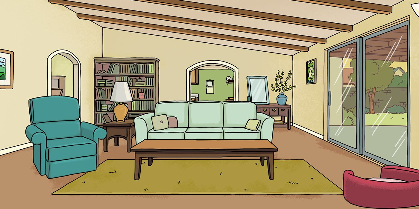 Rick And Morty Zoom Backgrounds Will Make Your Quarantine Even Weirder