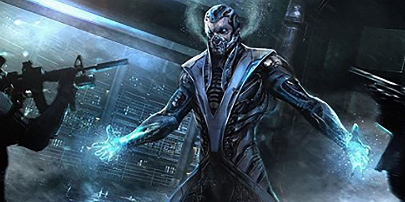 Sub Zero Gets A New Look In Abandoned Mortal Kombat Pitch Art