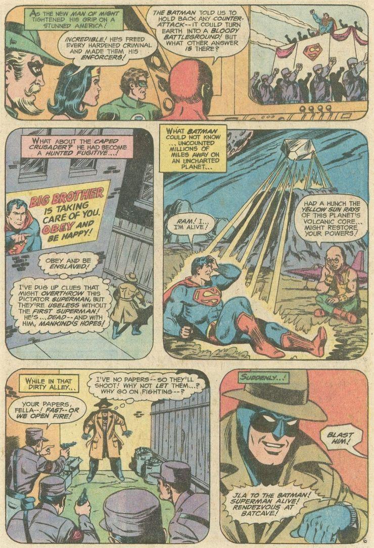 world finest comics 246 5 - ¿Superman tuvo realmente un hermano gemelo que era jorobado?