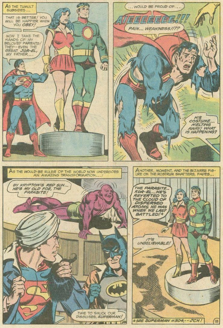world finest comics 246 6 - ¿Superman tuvo realmente un hermano gemelo que era jorobado?