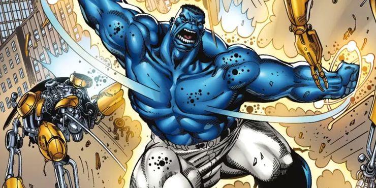 O Hulk Azul: Como o poder cósmico de Banner o tornou ainda mais forte 2