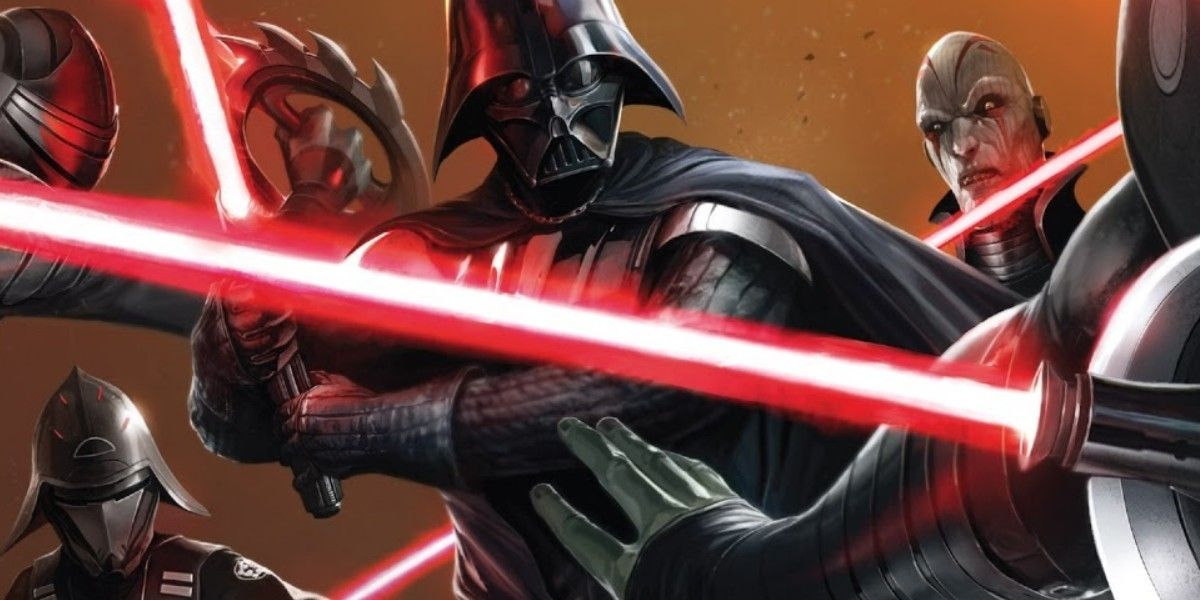Darth Vader Revealed Why Star Wars TV & Video Game Villains Are Chumps