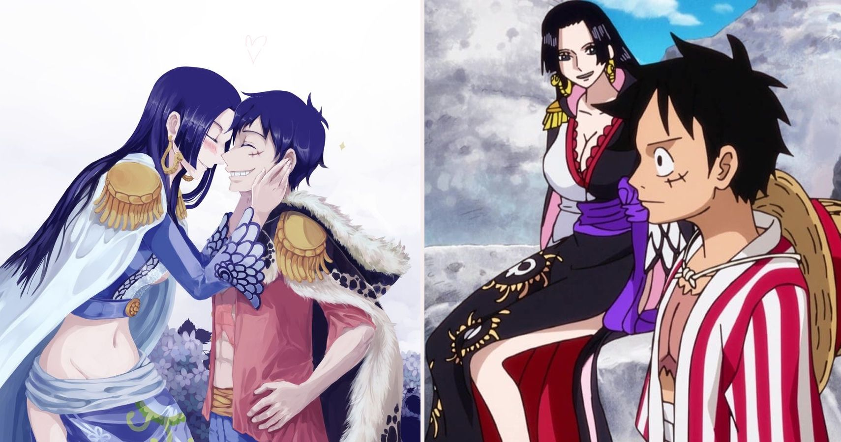 One Piece: 10 Pieces Of Luffy & Boa Fan Art That Are ...