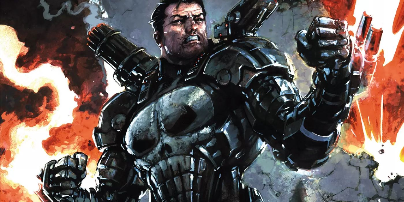 How Punisher Turned an Iron Man Armor Into a REAL War Machine
