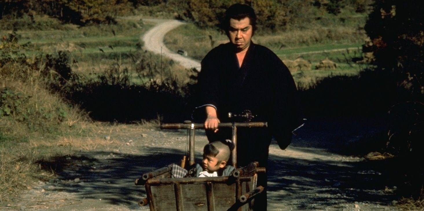 Lone Wolf & Cub: The Movies (& Manga) That Influenced The Mandalorian