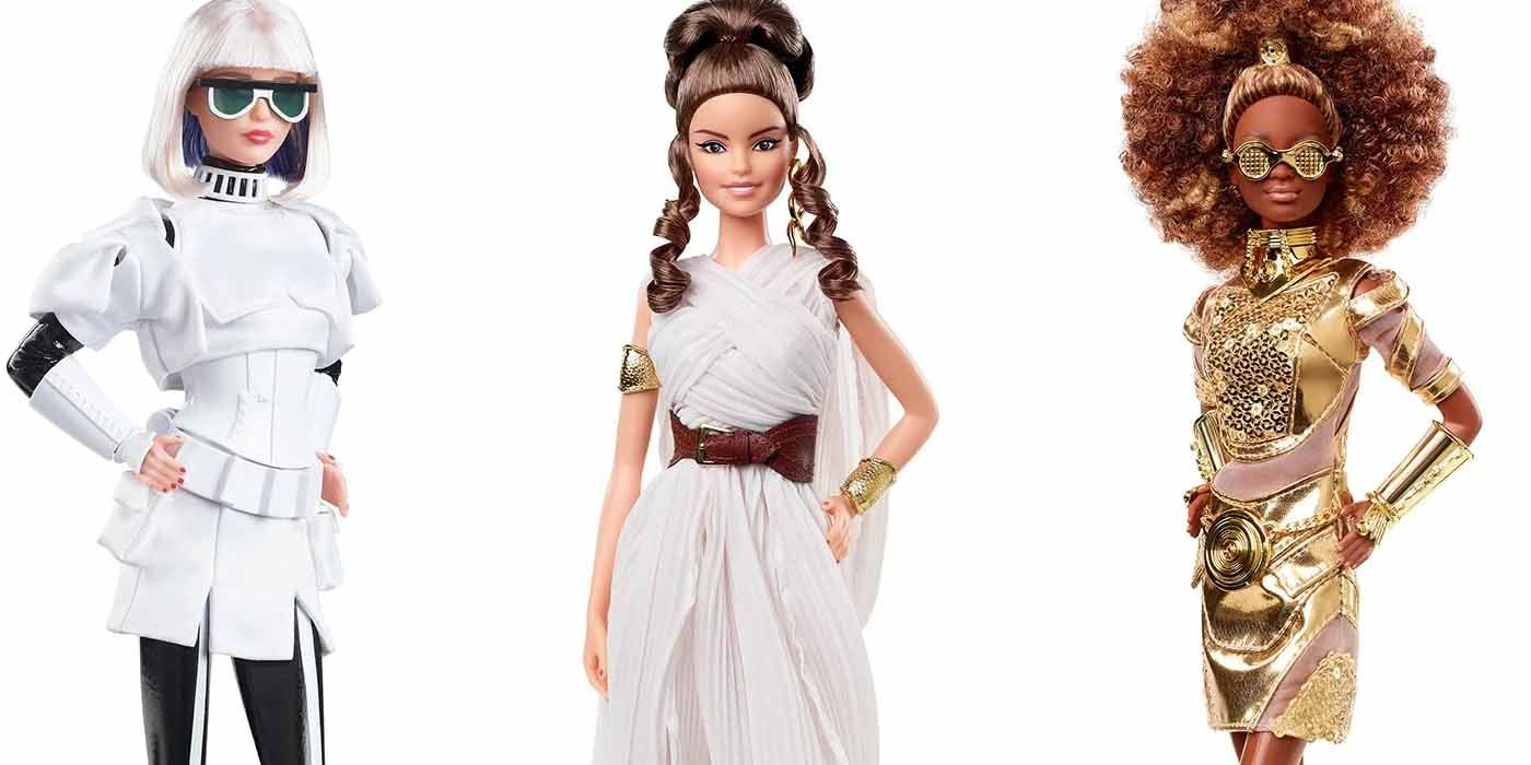 Star Wars Barbies Give Rey Skywalker, C-3PO and Others a New Look