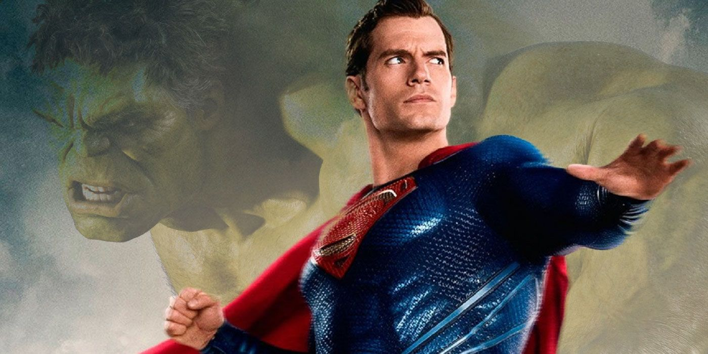 REPORT: Henry Cavill's Superman Will Take On a Hulk-Like Role in the DCEU