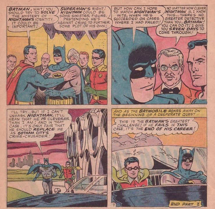 worlds finest comics 155 2 1 - Cuando Superman le hizo a Batman el regalo de aniversario más retorcido