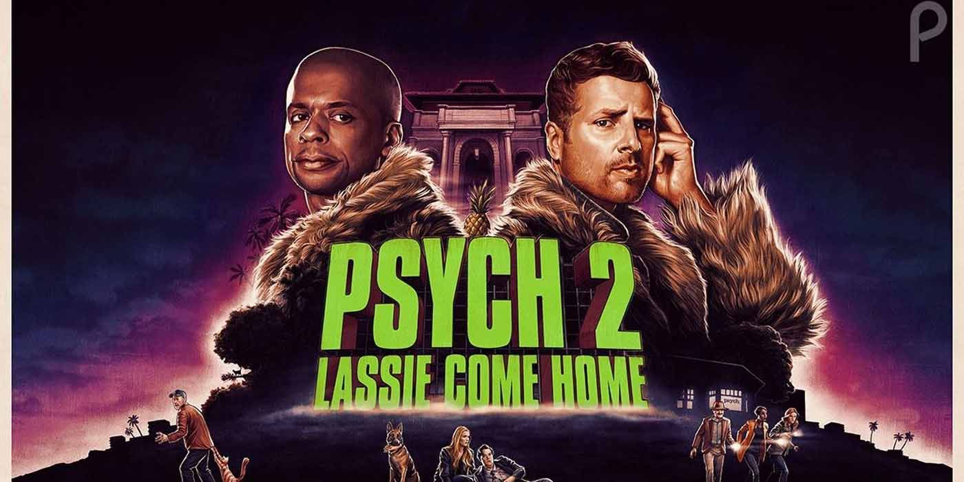 Psych 2: Lassie Come Home Unleashes Eight Minutes of Bloopers