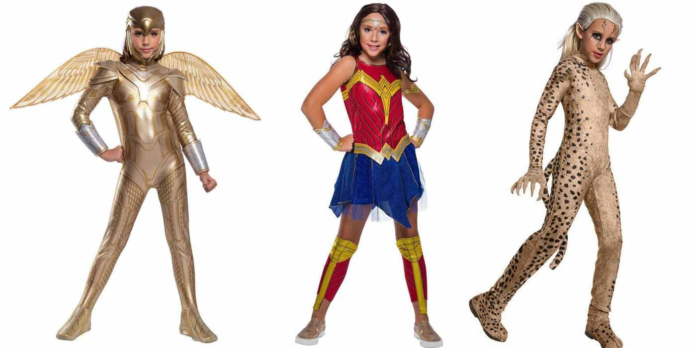 Wonder Woman 1984 Halloween Costumes Include Cheetah Golden Armor