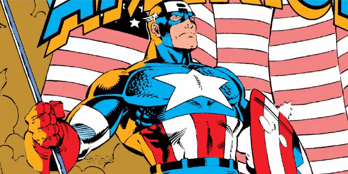 Captain America: The Best Comics with Marvel's Avenger for July 4