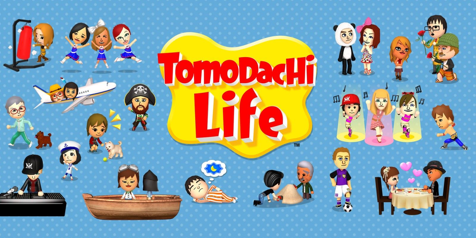 Tomodachi Life Should Come to Nintendo Switch