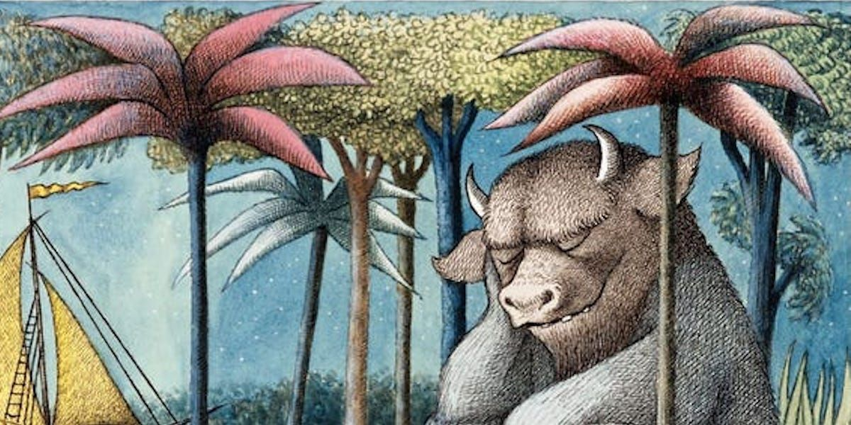 Where the Wild Things Are Creator`s Estate Inks...