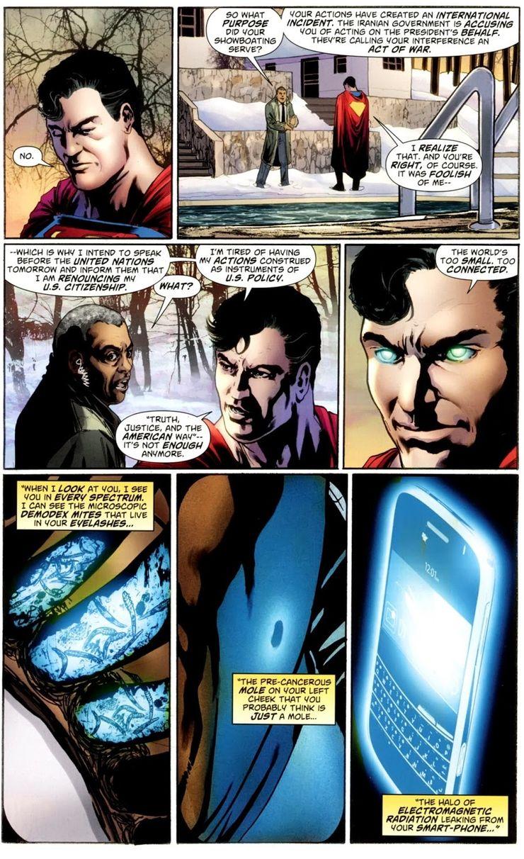"""action comics 900 - """"El estilo de vida americano"""" no fue originalmente parte de la interminable batalla de Superman"""