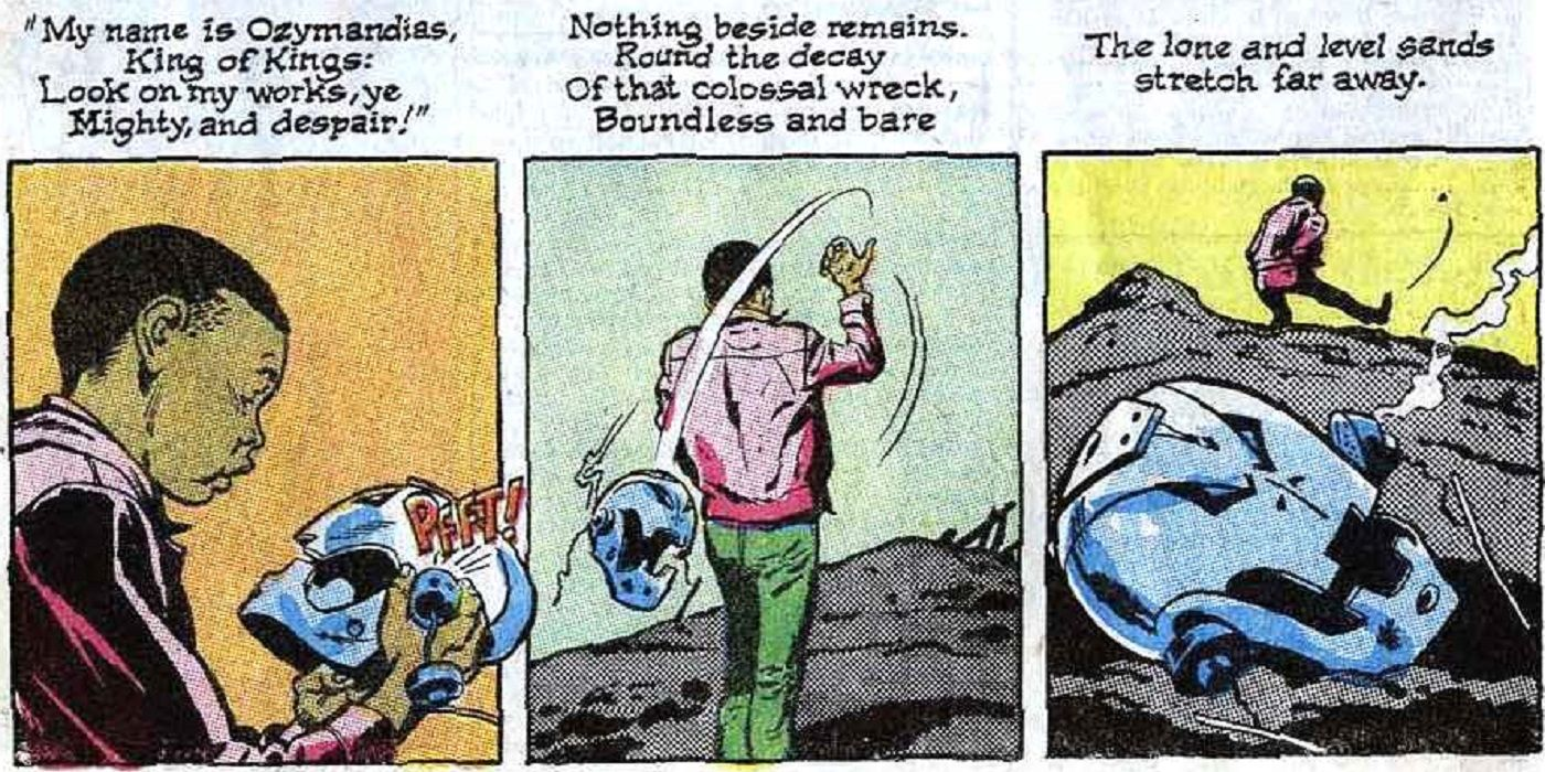 Avengers: How Roy Thomas' Use of 'Ozymandias' Blew Readers' Collective Mind