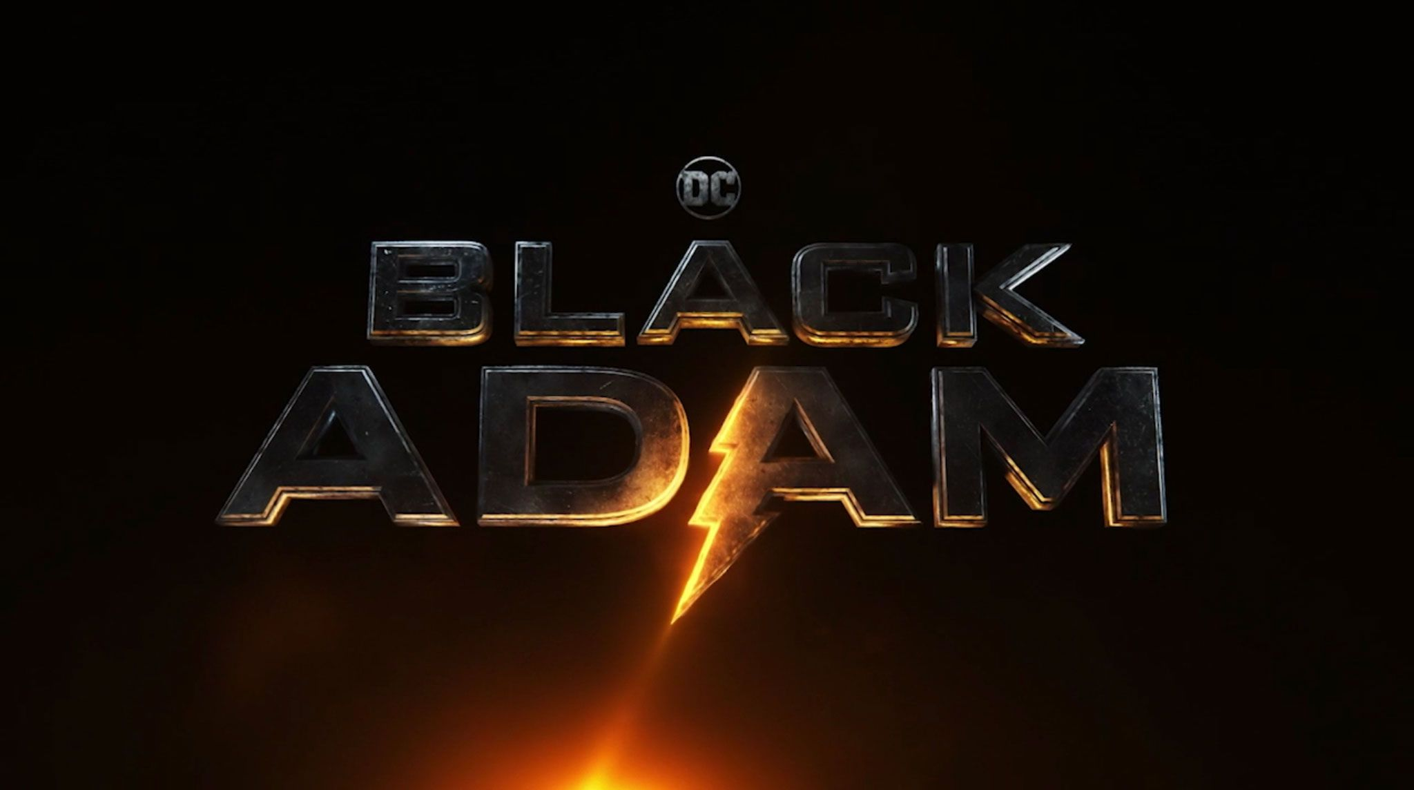 Black Adam 'Adão Negro': Filme DC de Dwayne Johnson estreia seu logotipo eletrizante 1
