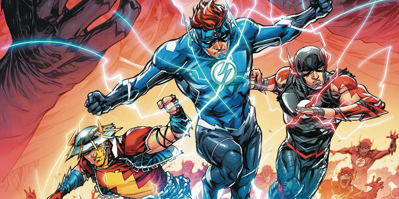Dark Nights: Speed Metal Is the True Finale to Williamson's Flash Run - and Wally West Is a Huge Part of It