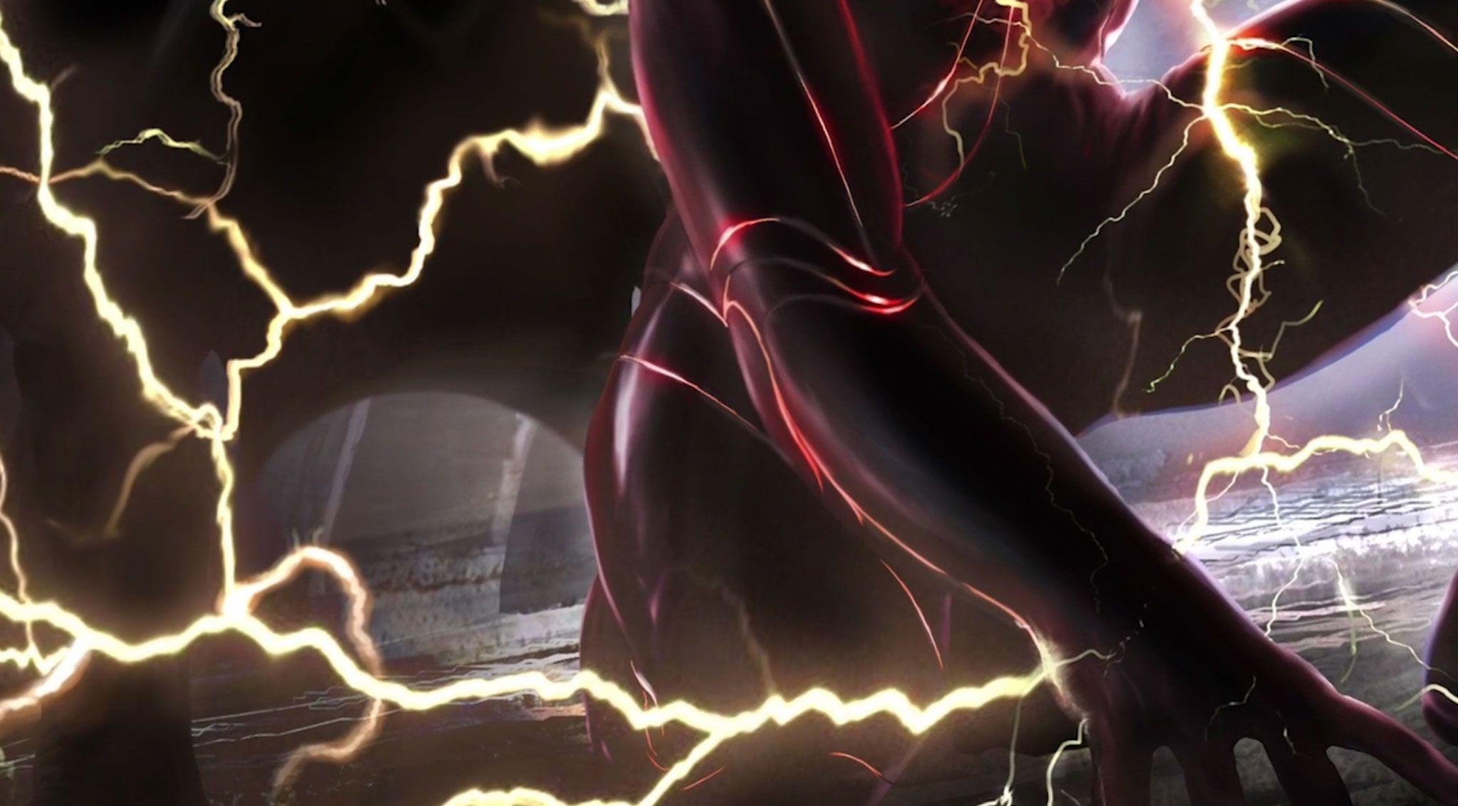 O Flash: o novo traje de Ezra Miller feito pelo Batman revelado em uma impressionante arte conceitual 3