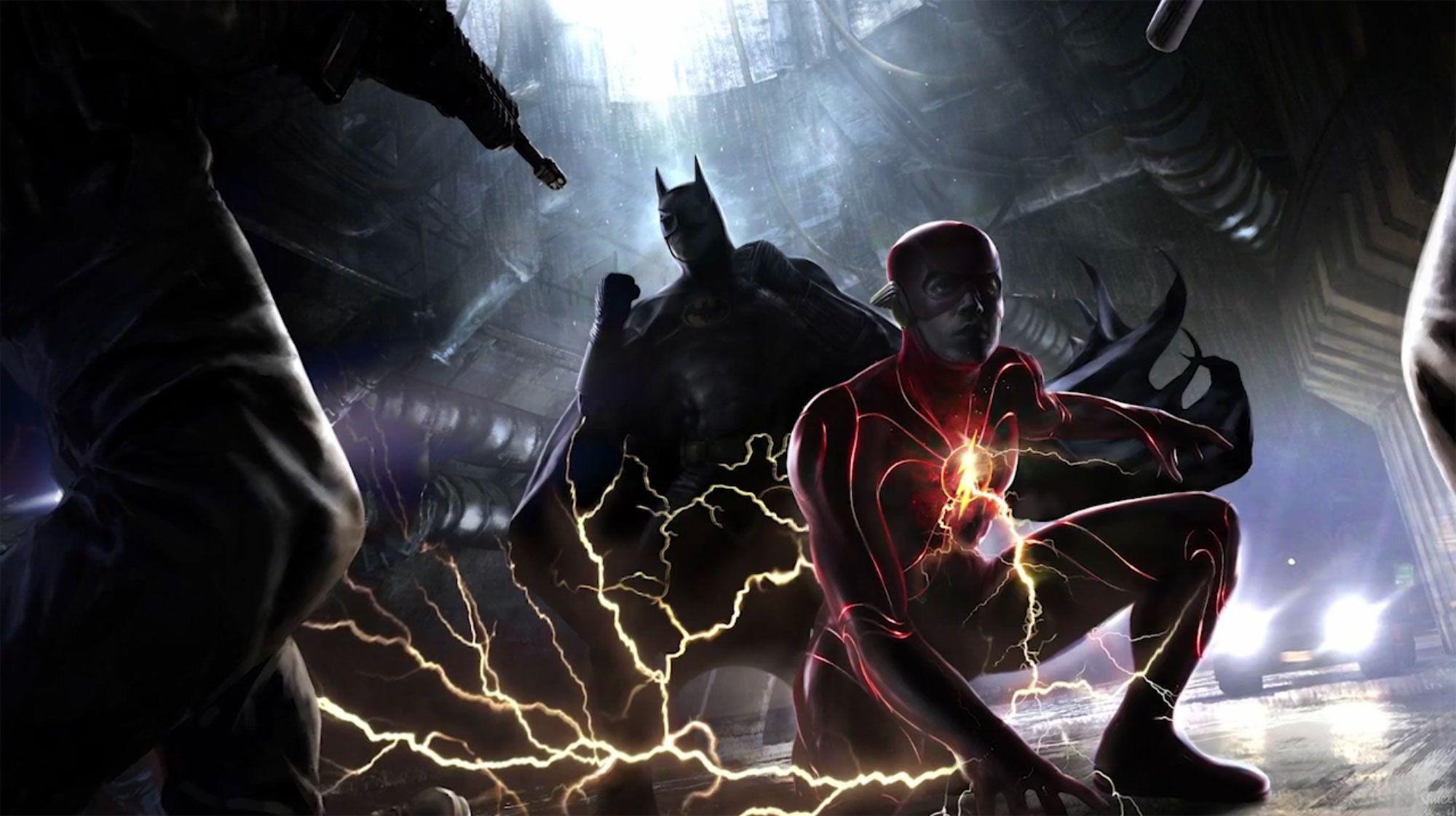O Flash: o novo traje de Ezra Miller feito pelo Batman revelado em uma impressionante arte conceitual 4