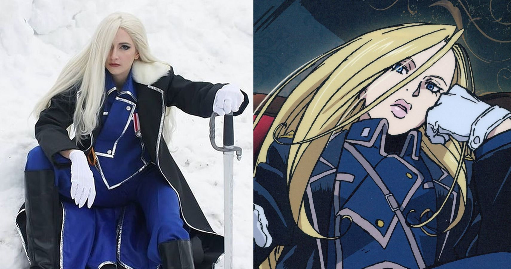 Fullmetal Alchemist: 10 Awesome Olivier Armstrong Cosplay ...