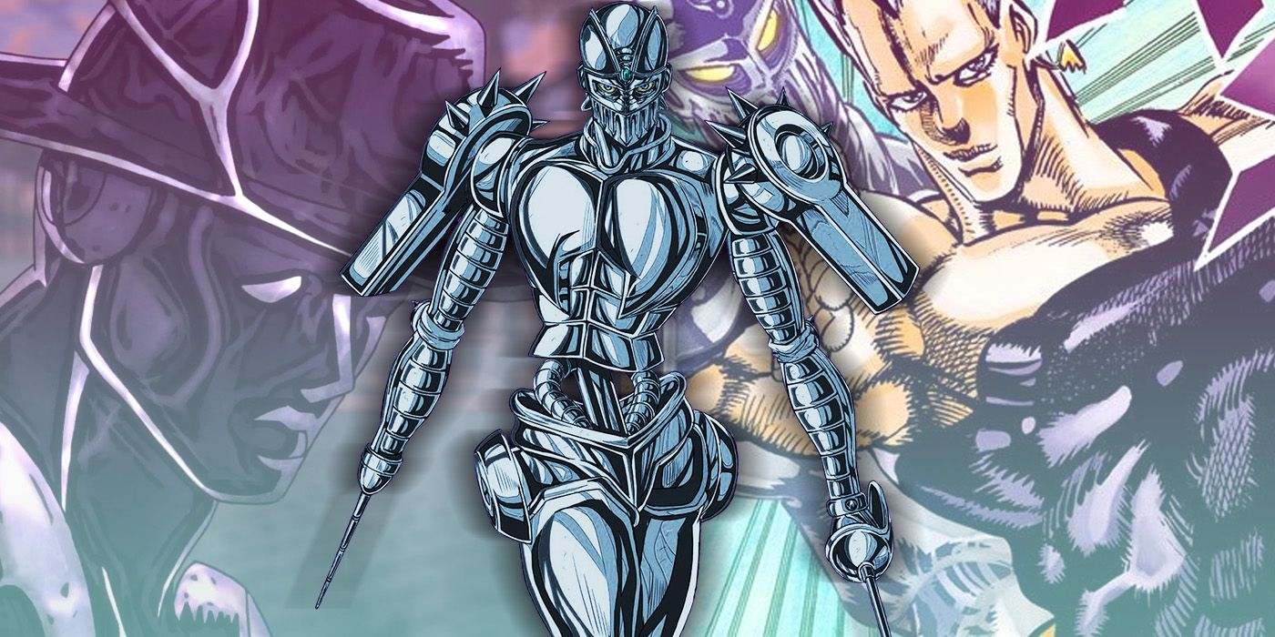 Jojo S Bizarre Adventure Silver Chariot Polnareff S Sword Slinging Stand Explained The type of arrow point defines its function. bizarre adventure silver chariot