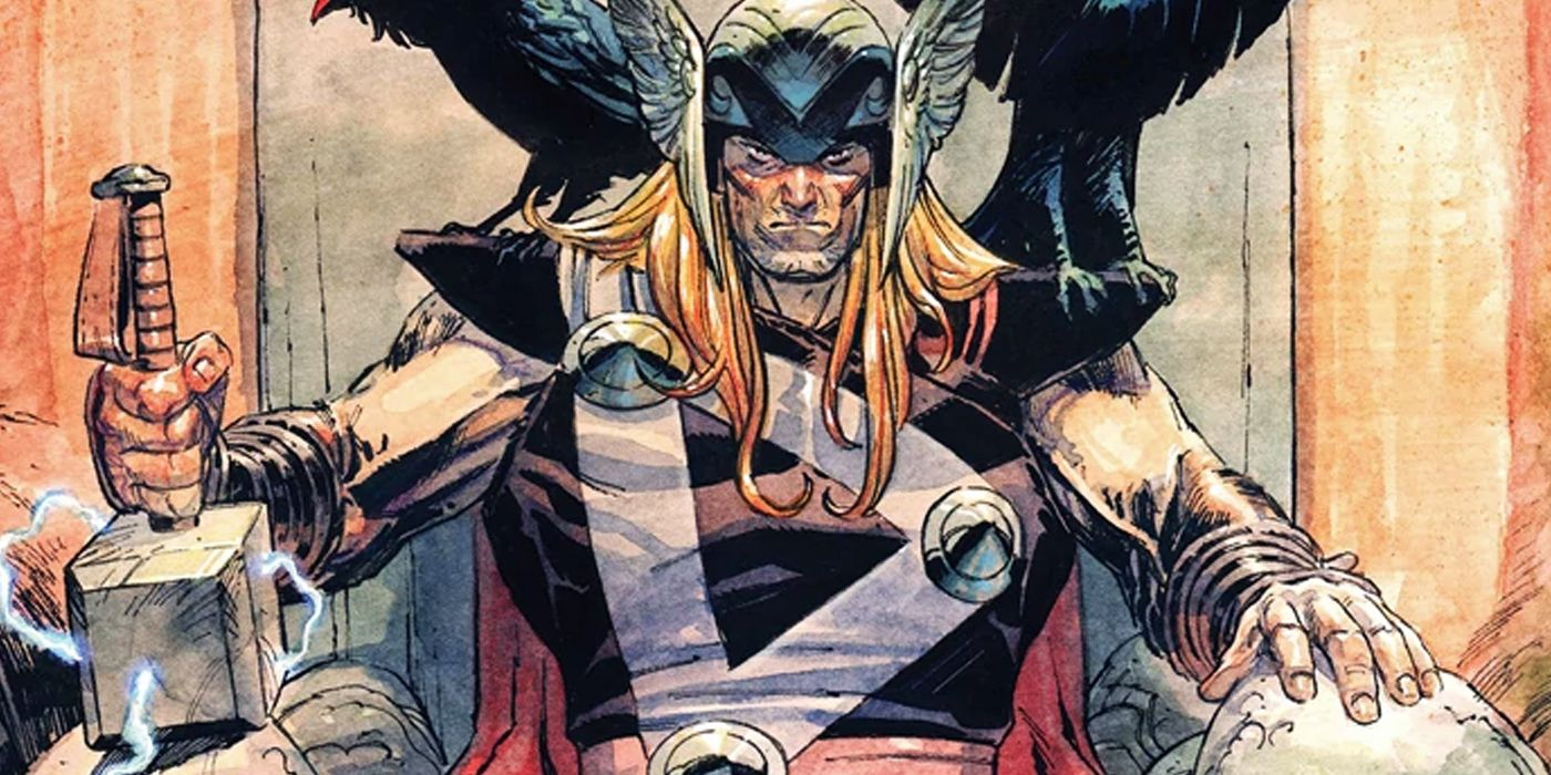 Thor: Marvel Opens Up Asgard's Book of Secrets - And Something's Wrong With It
