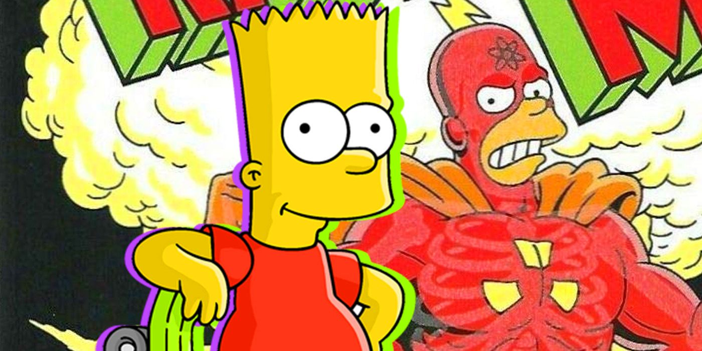 The Simpsons Theory: Bart's Love for Radioactive Man Has a Heartwarming Origin