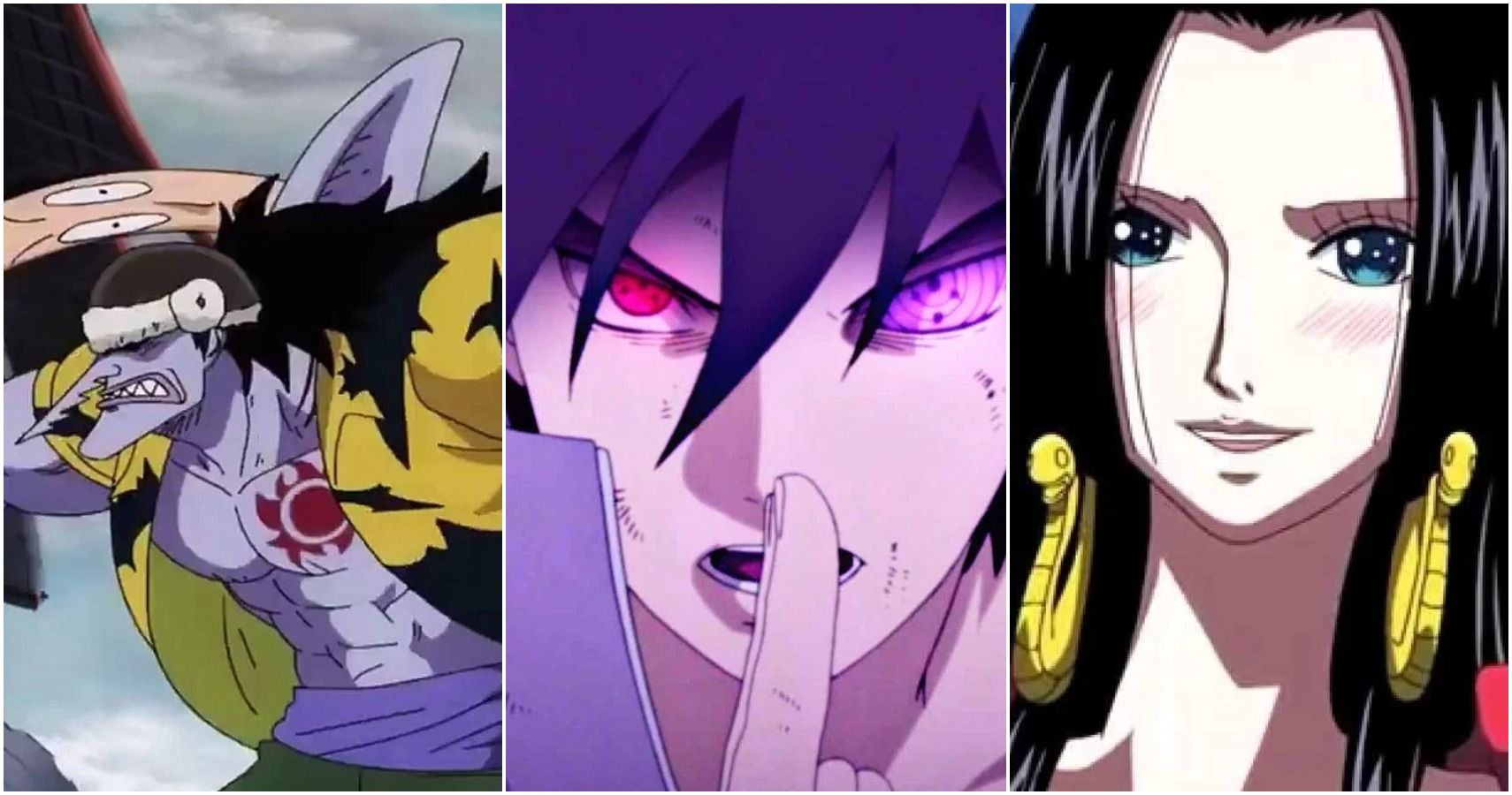 Naruto 5 One Piece Characters Sasuke Can Beat 5 He Can T