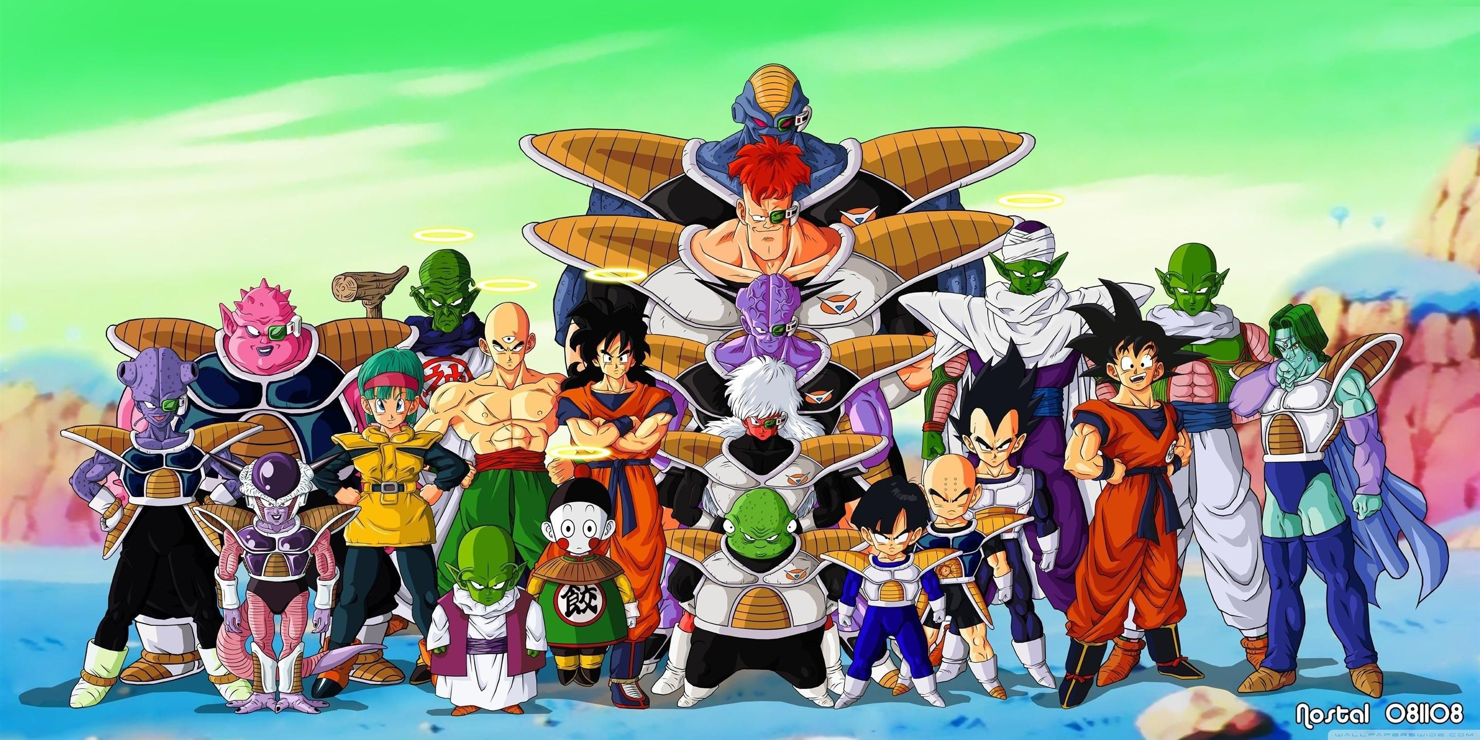 Every Main Character S Age Height And Birthday At The End Of Dragon Ball Z
