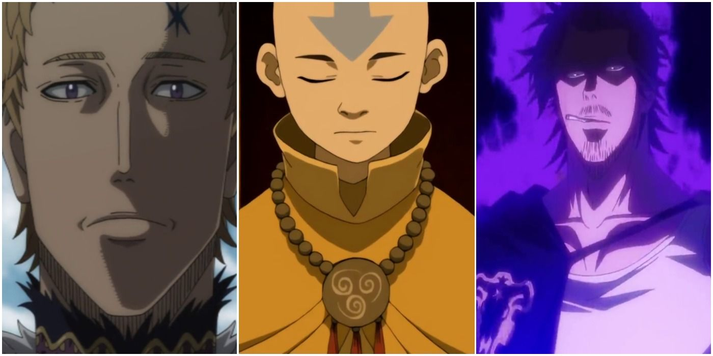 Avatar 5 Black Clover Characters Who Can Beat Aang 5 Who Don T Stand A Chance Юлий новахроно / julius novachrono. 5 black clover characters who can beat