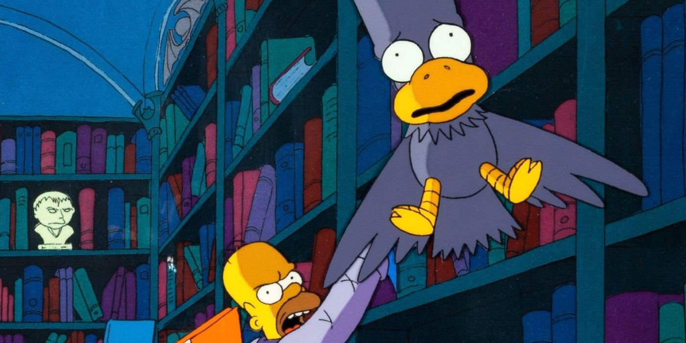 The Simpsons: Treehouse of Horror Features the Best Poe Reading EVER