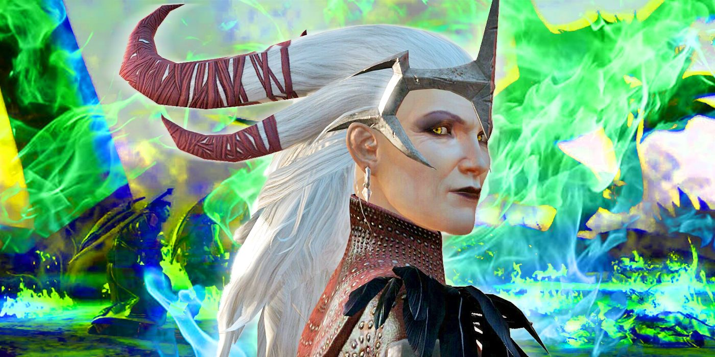 Flemeth coolest dragon around.   Dragon age, Dragon age