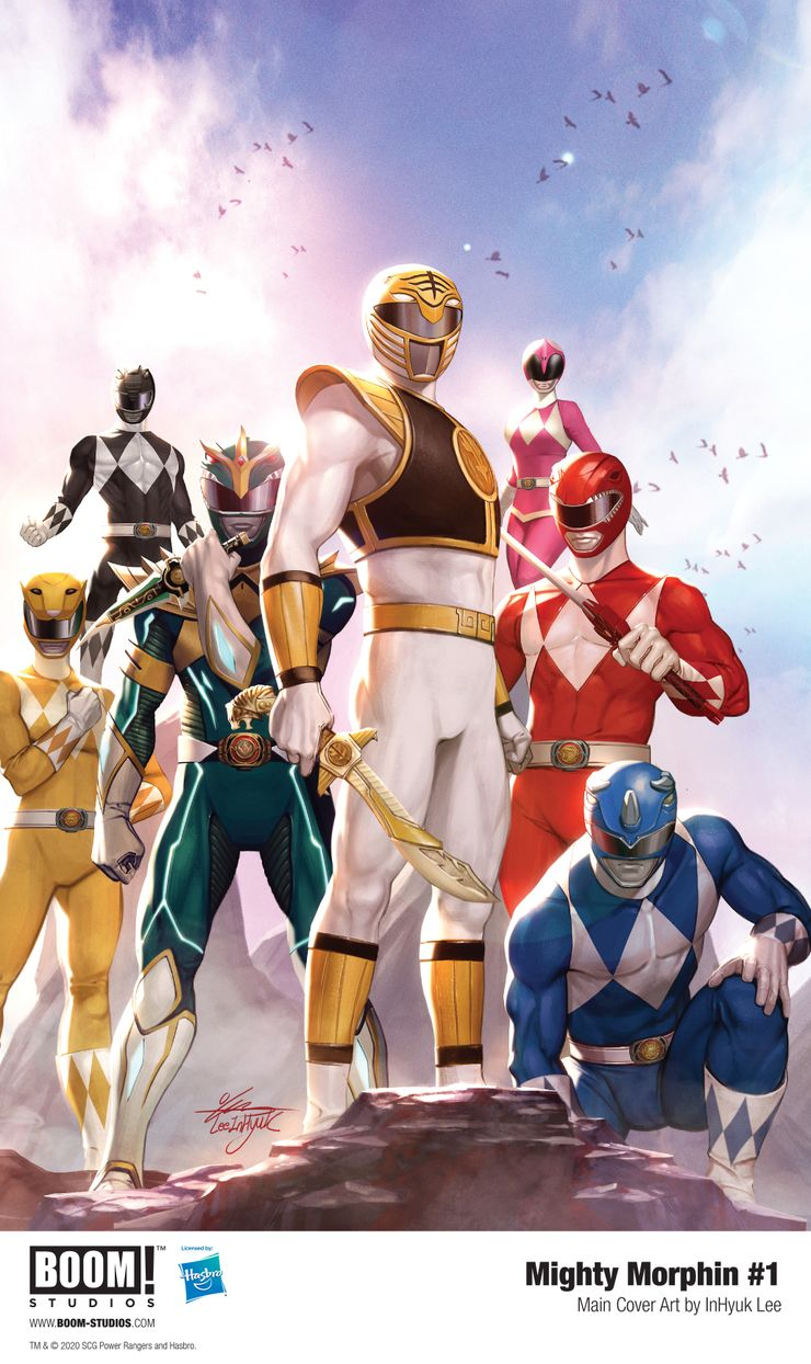 mighty morphin 1 inhyuk lee cover