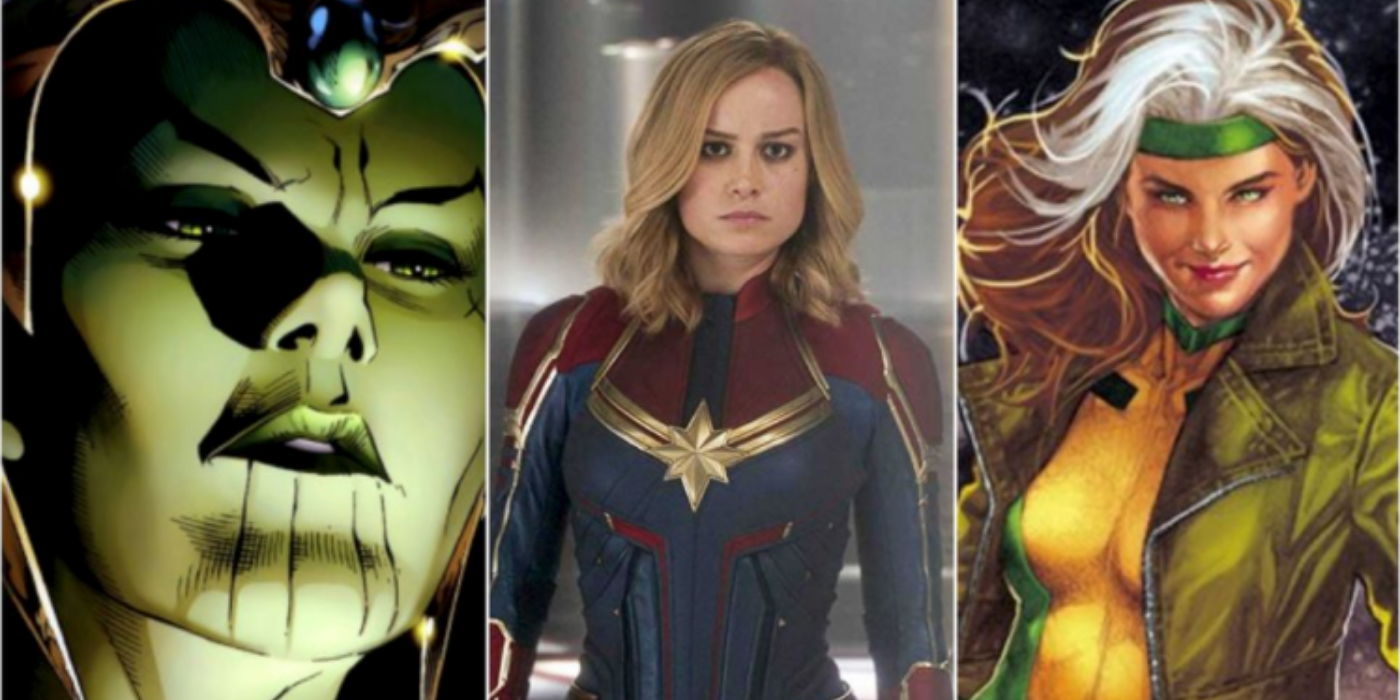 Captain Marvel 20 20 Characters Who Would Make Great Villains