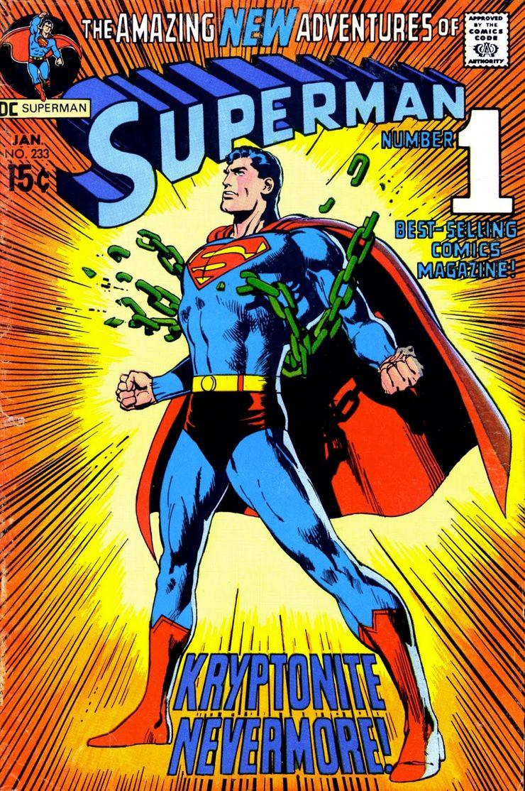 superman 233 0 - Hace 50 años, la vida de Superman cambió drásticamente