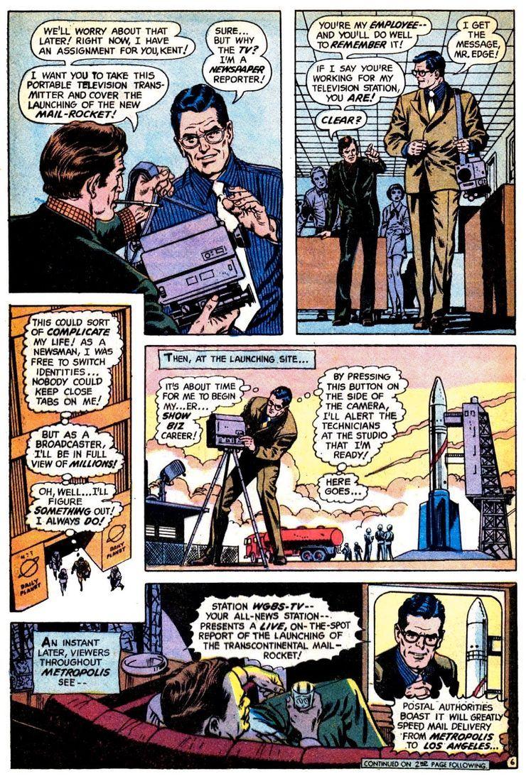 superman 233 1 - Hace 50 años, la vida de Superman cambió drásticamente