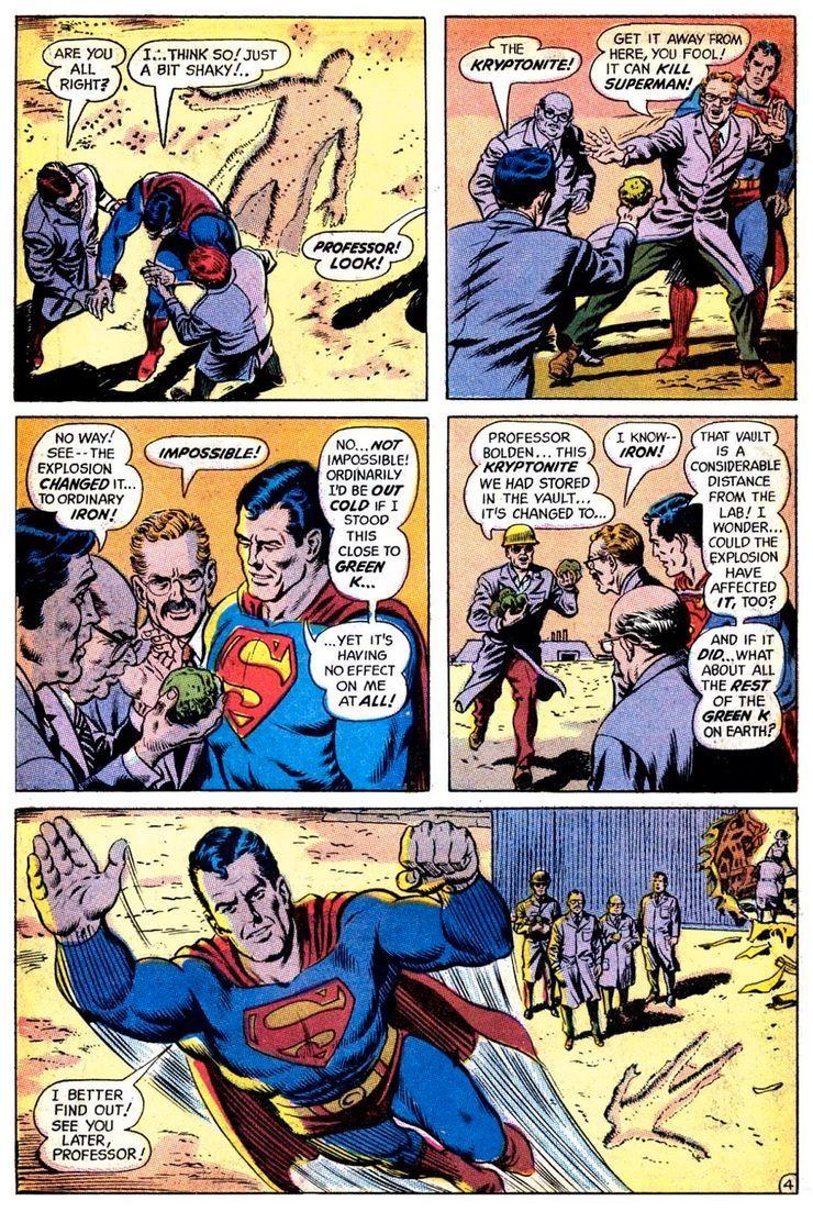 superman 233 3 - Hace 50 años, la vida de Superman cambió drásticamente