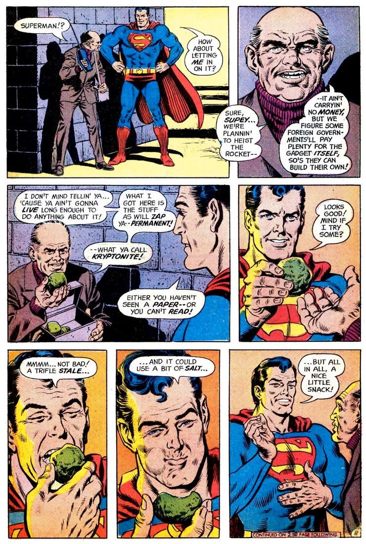 superman 233 4 - Hace 50 años, la vida de Superman cambió drásticamente