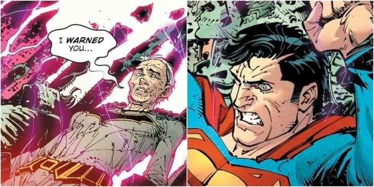 Dark Nights Metal A trap for Superman with Batman as the bait - Cuando la bondad y amabilidad de Superman se interpusieron en el camino