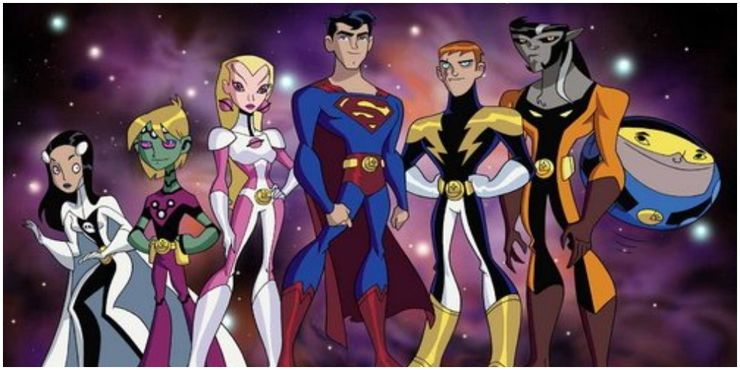 Legion of Superheroes Cartoon Hero Members - Cuando la bondad y amabilidad de Superman se interpusieron en el camino