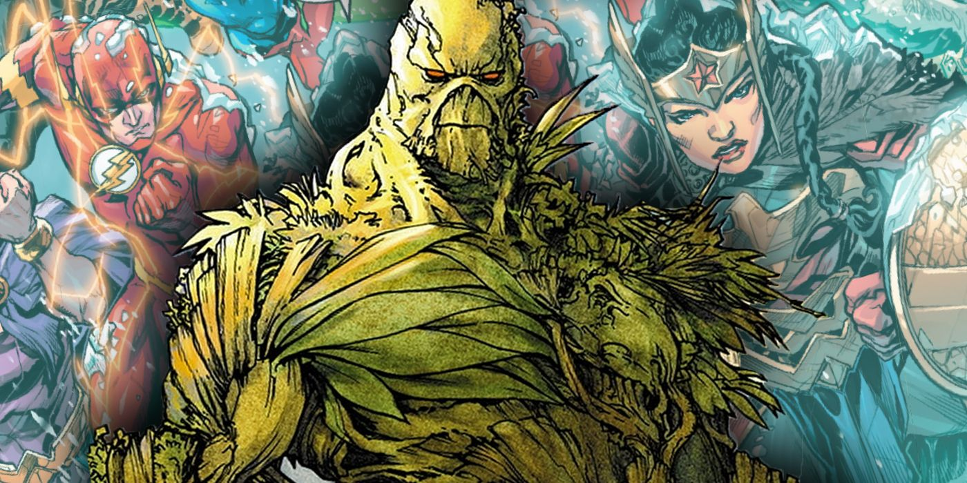Justice League: Endless Winter Put Swamp Thing Through an EPIC Transformation