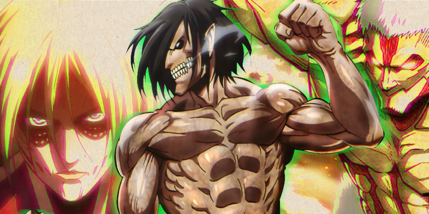 Attack on Titan: Where Each of the Anime's Nine Titan ...