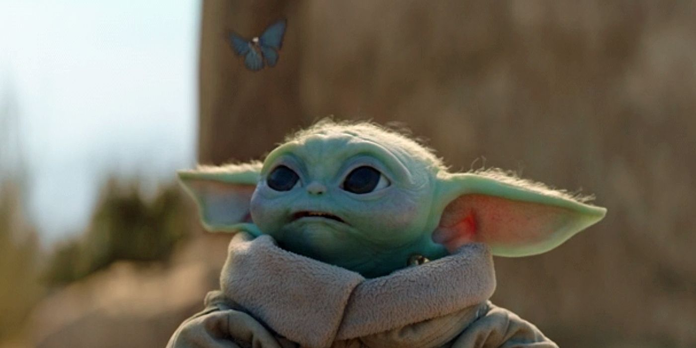 The Mandalorian's Blue Butterflies May Tie Baby Yoda to Vader & Kylo Ren