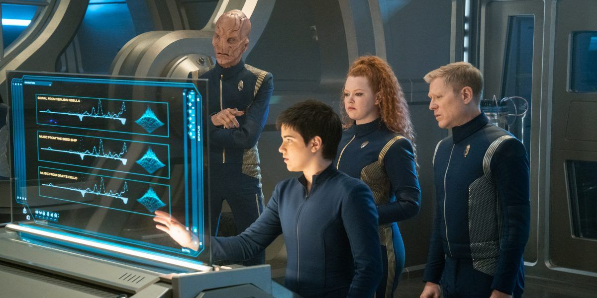 Star Trek: Discovery - How Carl May Connect To TNG | CBR