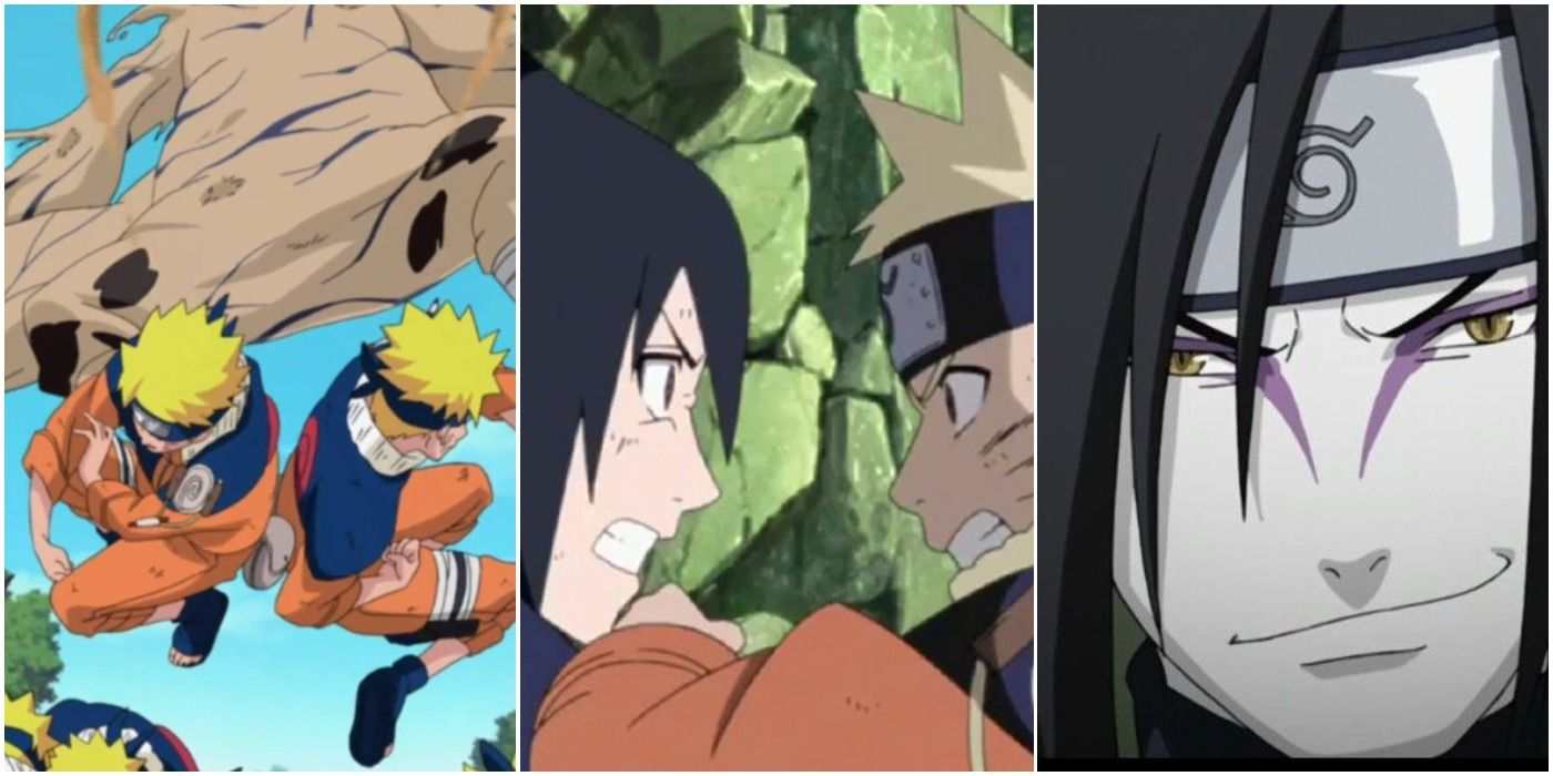 Naruto's 10 Toughest Fights, Ranked In Chronological Order