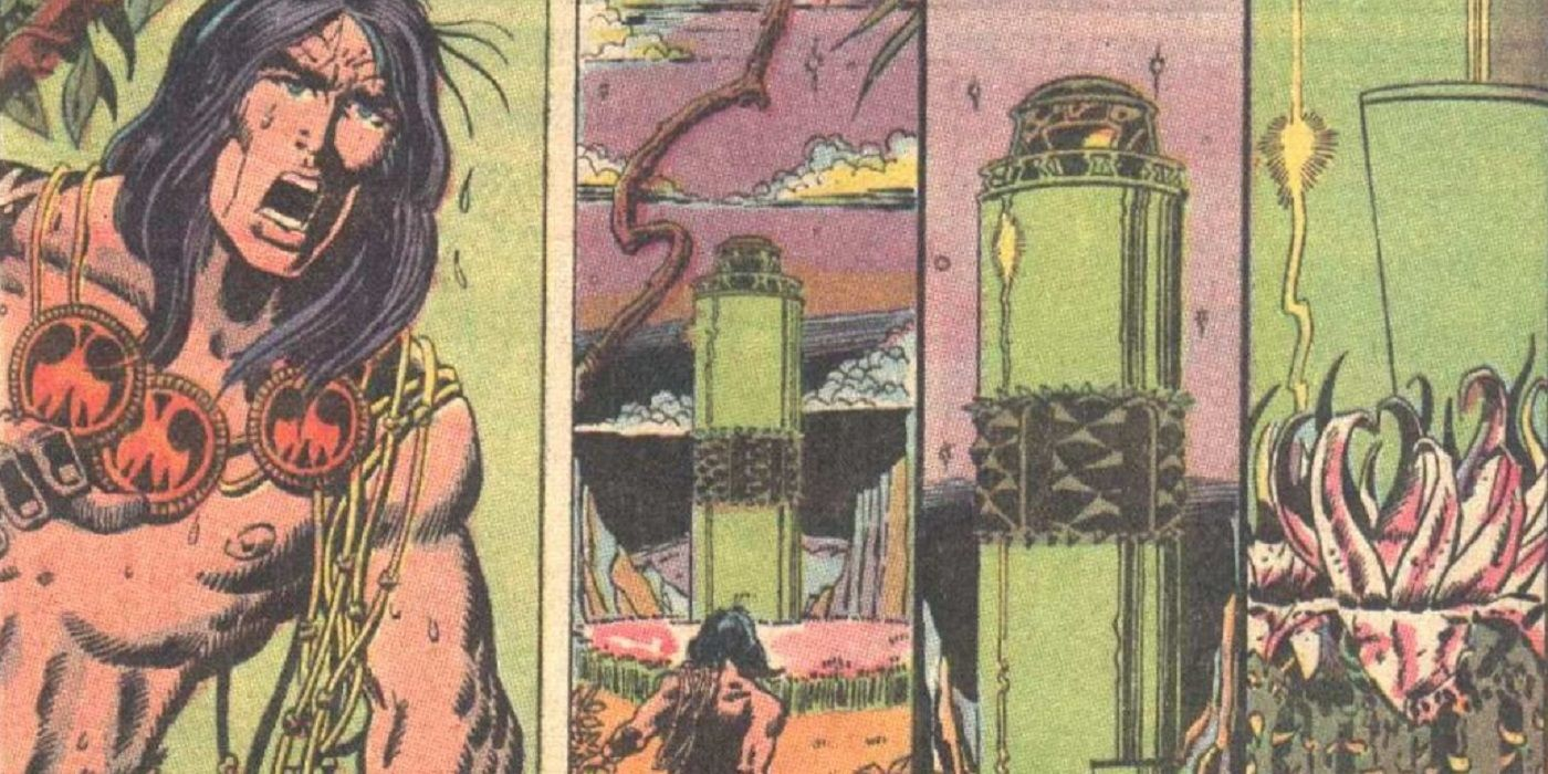 Conan: How Some Cleverly Colored Flowers Hid a Bloody Scene From the Comics Code