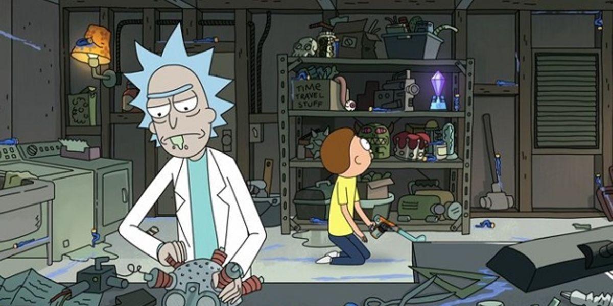 10 coisas que você nunca notou sobre a garagem de Rick e Morty 9