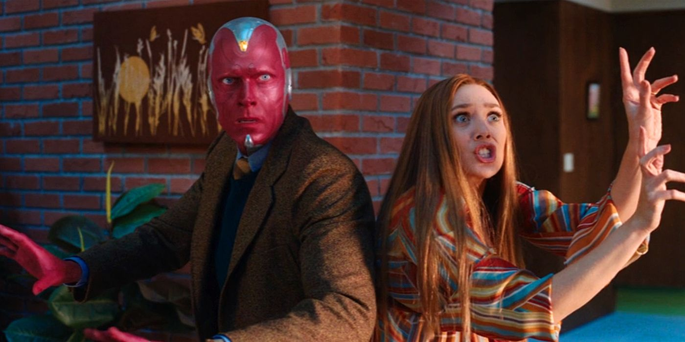 WandaVision Theory: Scarlet Witch Isn't in Danger, But Vision Definitely Is
