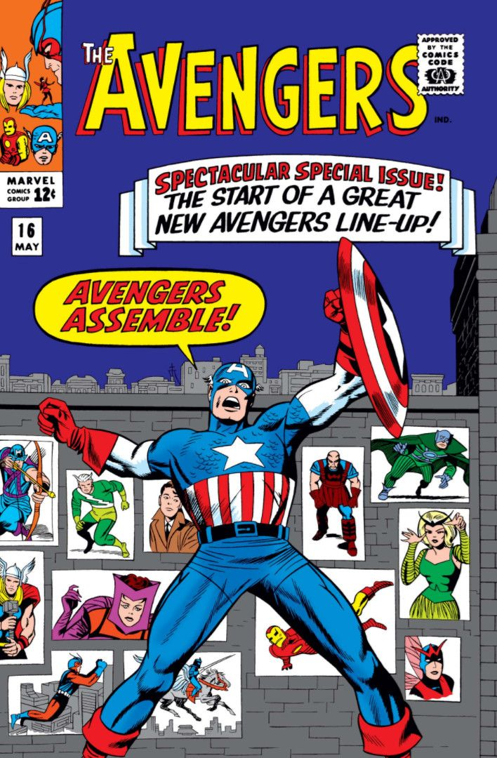04/10 The Avengers: Spectacular Special Issue! - The Start Of A Great New Avengers Line-Up!