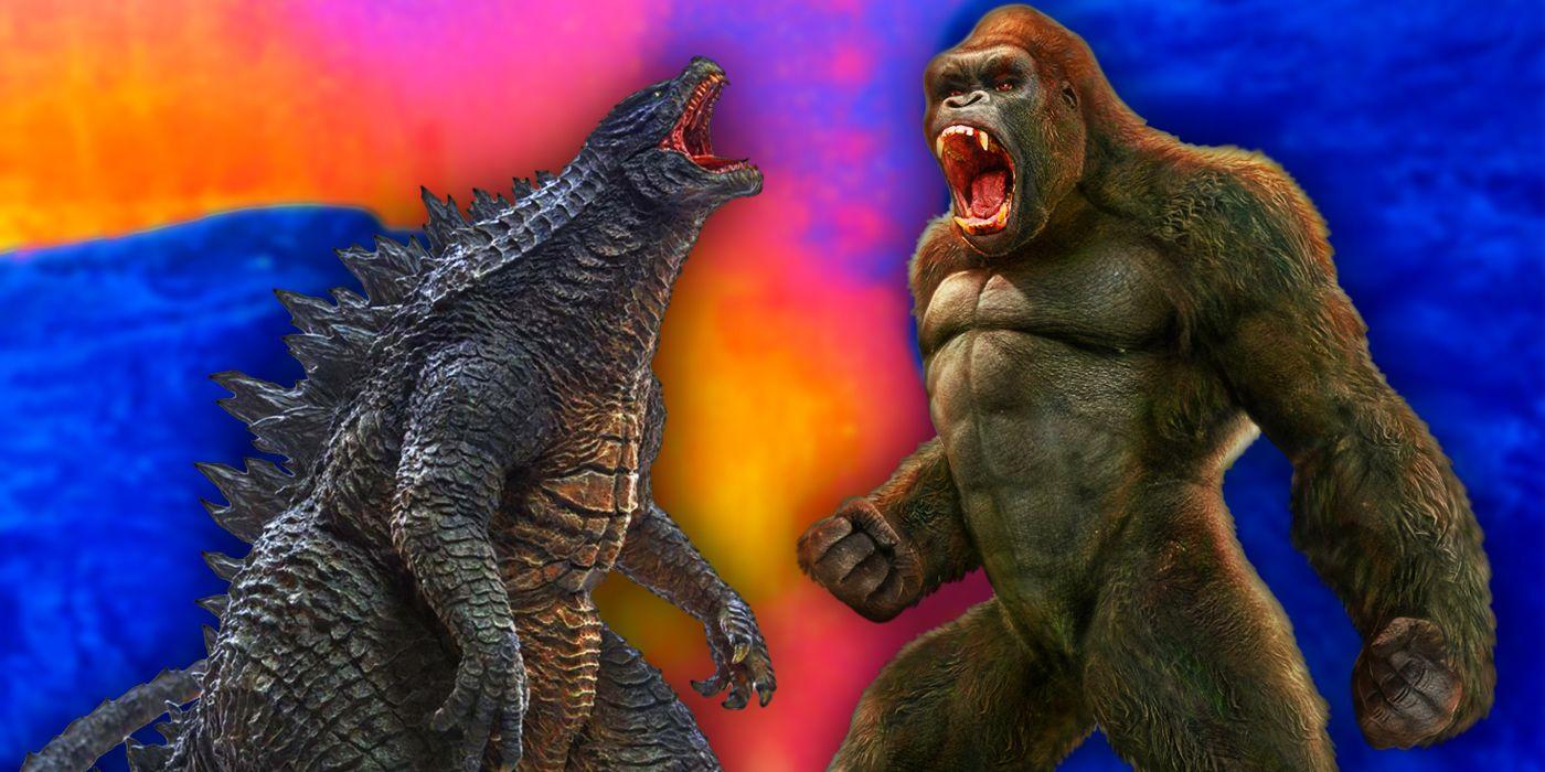 Godzilla vs. Kong Debuts Chinese IMAX Artwork | CBR